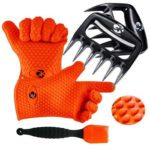 GK's 3 + 3 BBQ Silicone Gloves Set