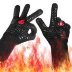 Landteek BBQ Silicone Gloves