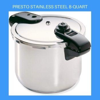 Presto Stainless Steel 8-Quart